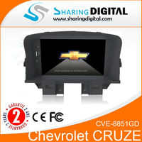 CVE-8851GD car GPS support with 3G built in GPS radio Car headunit for Chevrolet Cruze radio