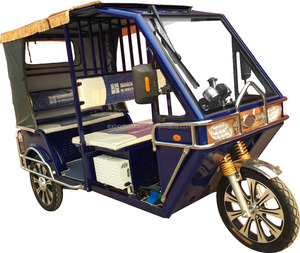 Newest electric three wheelers auto rickshaw tricycles, SHOOT model