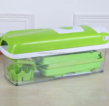 wholesale 12 pcs vegetable as seen on tv slicer and chopper set
