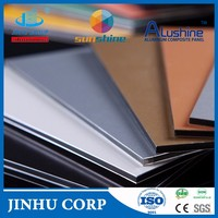 3mm/4mm aluminum composite panel for cladding and facade/PE/PVDF