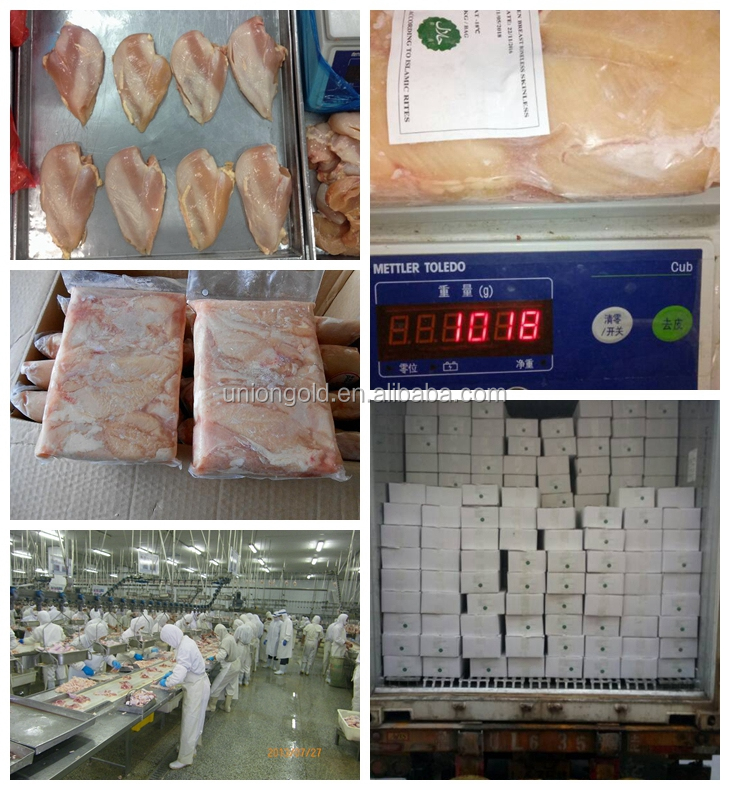 Halal frozen chicken meat supplier from China