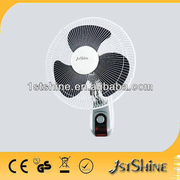 decorative wall mount fans SH-W202 with CE hot sell !