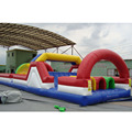 2017 new arrival wholesale cheap inflatable obstacle course party theme