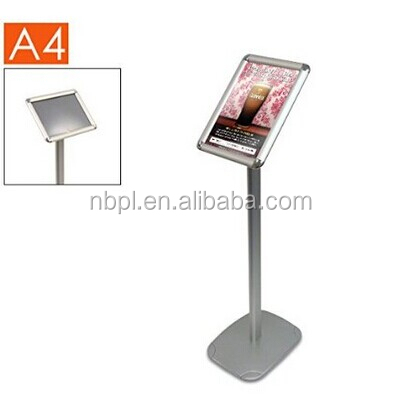 A3,A4 size advertising poster display stand,poster stand