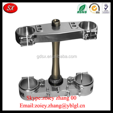 CNC Machining Anodized Aluminum Triple Clamp For Chinese Motorcycle Spare Parts