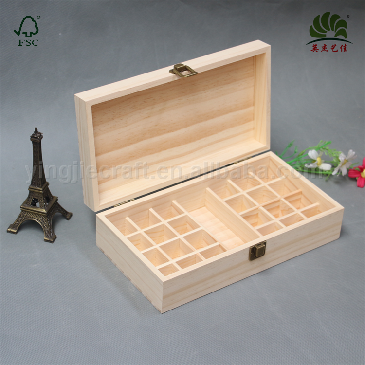 Brand new customized china style wooden essential oil box for woman with good price