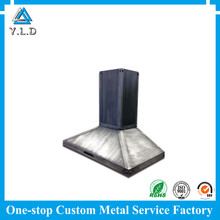 Contract Manufacturing Progressive Galvanized Stainless Steel Sheet Metal Parts Customized For Hood Vent