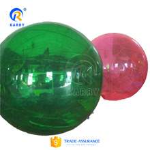 Hot sale colorful inflatable water ball, floating walk ball, walk on water for sale