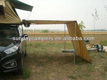 Camping Awning with extension