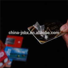China leading manufacturer Fluorescence Contactless Cards SIM Cards High Vicat PVC Card Material
