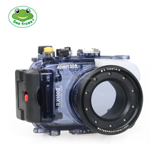 Seafrogs Newest 40m Underwater Depth Diving Case Waterproof Camera Housing for Sony RX100 II