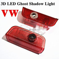 For VW Wireless Projection Logo Light,Led Car Logo Door Light,Car Door Logo Projector Lights 3D ghost shadow light