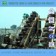 Small Floating Bucket Chain Wheel Dredger for Sale