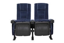 Folding theater cinema hall chair home luxury cinema seat with VIP push back (YA-018)