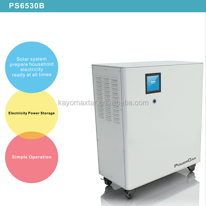 8KWh storage lithium ion battery 3KW solar power residential