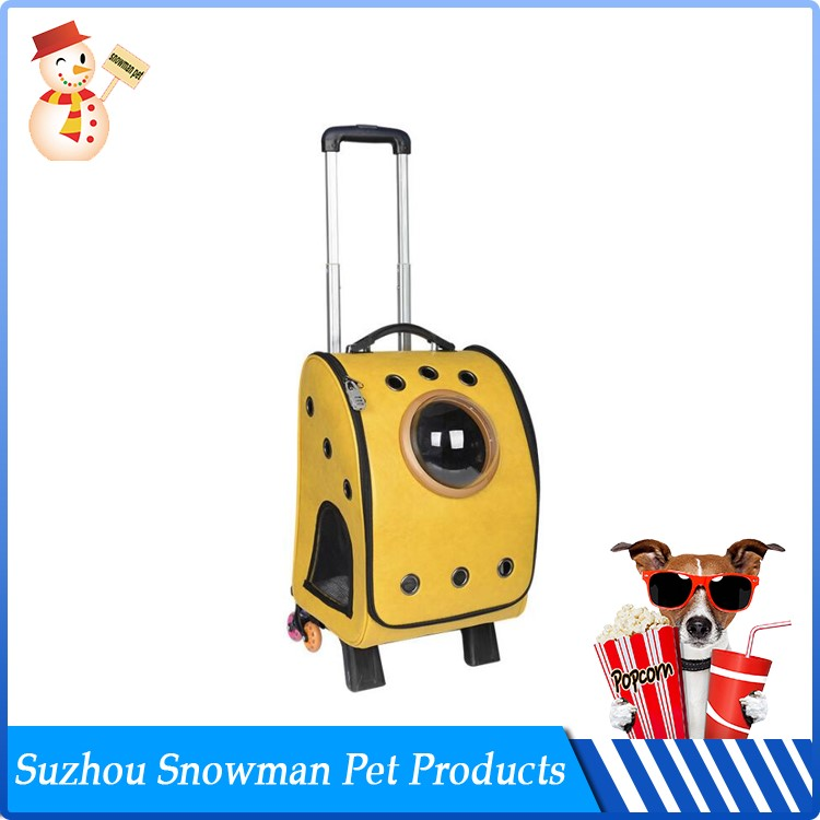 Portable Flexible Soft Sided Airline Approved pet carrier small dog