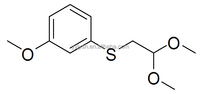 (2,2-dimethoxyethyl)(3-methoxyphenyl)sulfane 98733-08-5