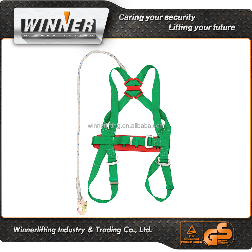 free Sample full body safety harness with lanyard