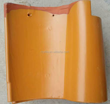 Chinese clay spanish roof tiles