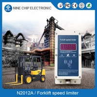 forklift speed limit systerm prevent the truck accidents