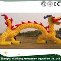 Commercial advertisong vivid inflatable model , dragon inflatable cartoon