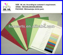 textured color paper/textured color paper/leather grain binding paper
