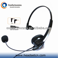 Good quality monaural 2.5mm plug call center headset custom branded ear headphone for telephone HSM-900NPQDJ2.5
