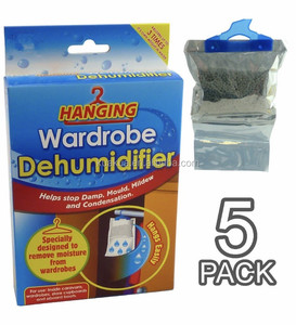 500ml hanging humidity absorber dehumidifier bag moisture absorber for warehouse damp trap with scent