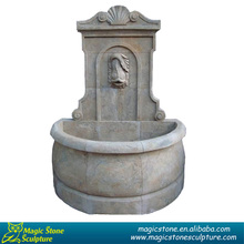 Hand carved fish sculpture outdoor water fountain Chinese supplier