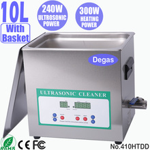 410HTDD 10L Digital Dental Ultrasonic Cleaners for Denture Cleaning