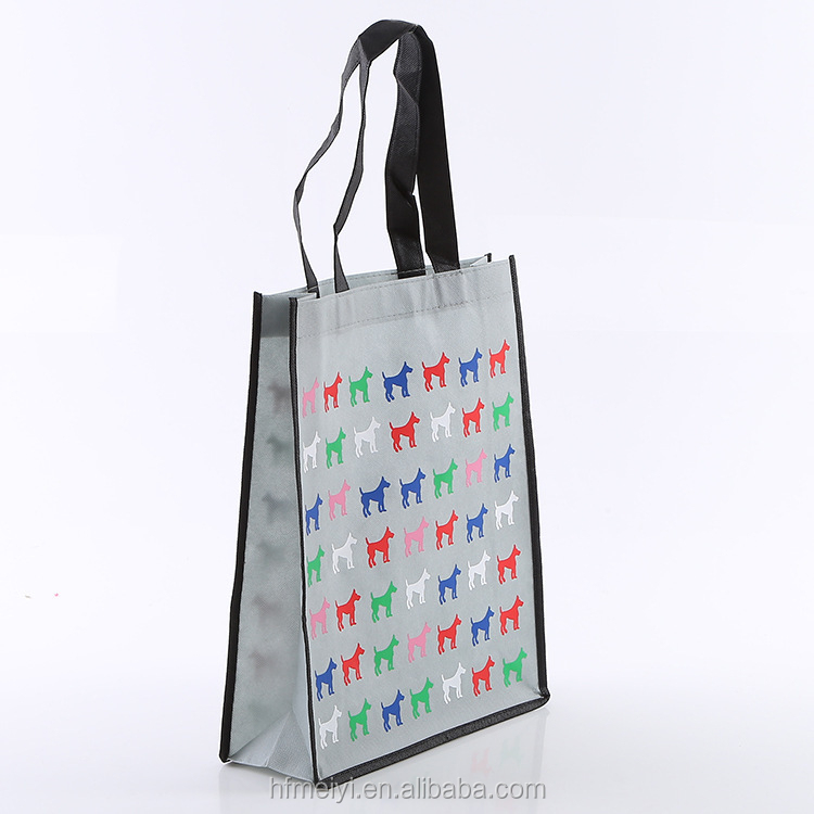 2018 china suppliers new products opp laminated non woven bag shopping bag