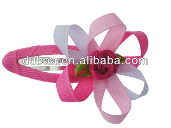 Ribbon Hair Clips Wholesale Fashion Hair Clip in Hair,Flower Snap Hair Clips,Factory Price Fashion Jewelry Clips Hair Snaps