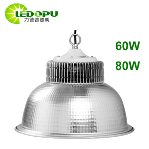 80W LED High Bay Indoor Lights Decoration Replacement Fluorescent Light Source and CQC Certification Explosion-proof Light