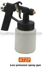 Royal low pressure spray gun for large -scale spraying ,auto repair ,furniture etc