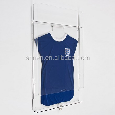 SJ-206 High Strength Acrylic Jersey Display Case For Sale
