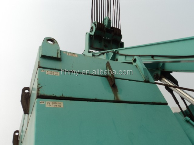 KOBELCO CKE2500-2 2004 year 100 ton crawler crane 2016 hot sale