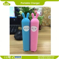 2200mAh Portable Battery Recharger, Card Power Bank, Battery Powered Portable Charger