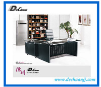Office Furniture Glass Table,Office Executive Glass Table Modern High End Glass Desk