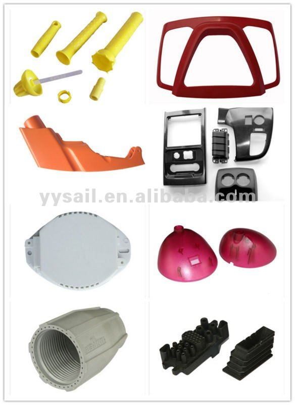 plastic motorcycle parts manufacturing with red colour