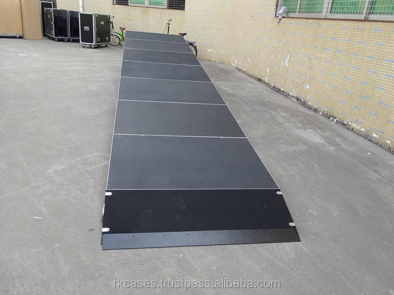 Rk aluminum easy install rectangle event portable stage