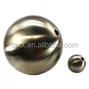 AISI 304 316 420 440CSolid/Hollow drilled stainless steel ball with hole