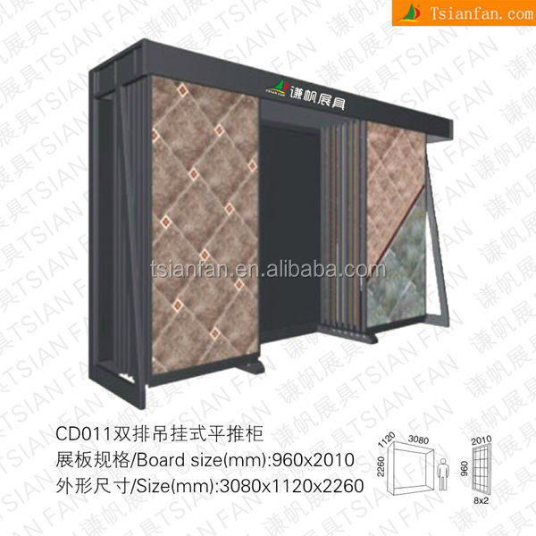 Ceramic Tile Metal Display Stand-CD011