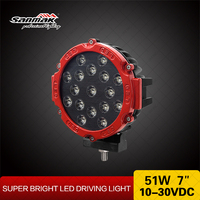 Super Bright 7 inch 51W High Power LED Driving Light