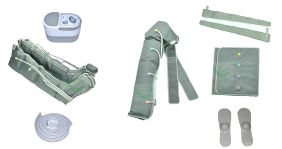 leg compression machine for lymphedema