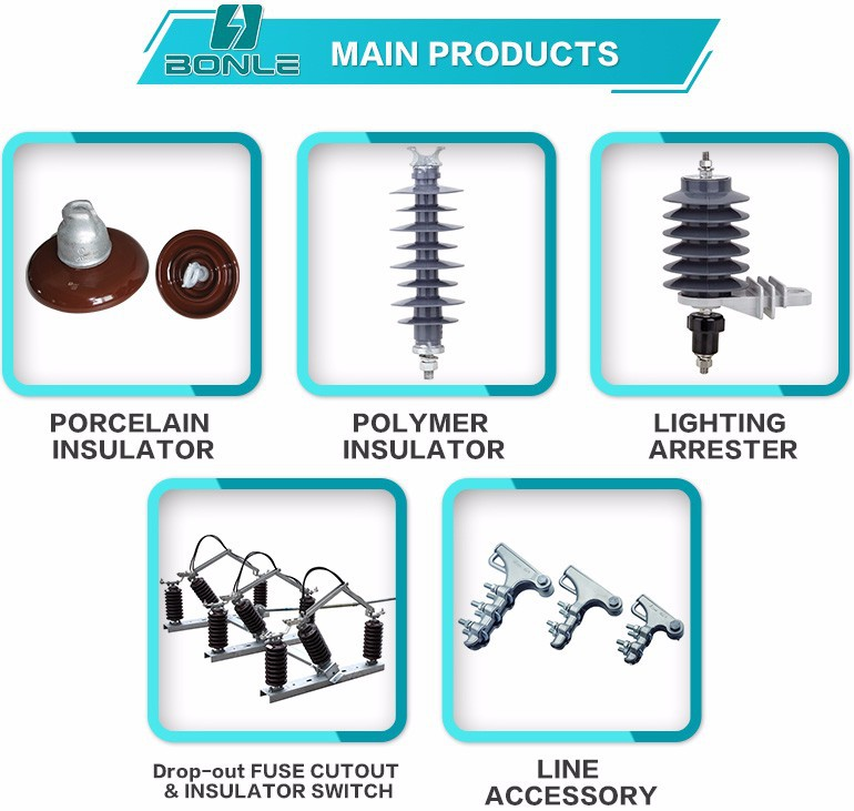 Porcelain electrical insulators, suspension,fog type,pin & line post porcelain insulator 52-3/53/54/55/56/57