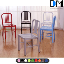 Replica emeco metal frame cheap stackable bar stool legs