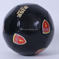 promotional size 1pvc leather football with butyl bladder
