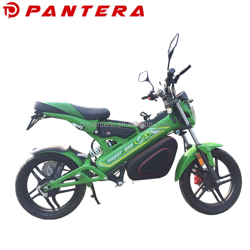 Portable Cheap New Model 1500W EEC Chinese Supplier Foldable Electric Racing Motorcycle