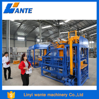QT6-15 block making machine suppliers in south africa,cement brick machine cost