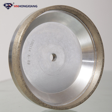 cup size v shape round edge electroplated diamond grinding wheel for carbide